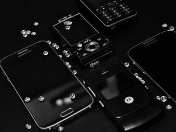 Smartphones Black/White foto